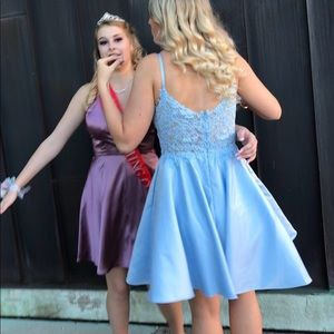PromGirl Dresses - Baby Blue homecoming/formal dress